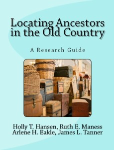 Locating Ancestors in the Old Country