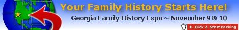 Georgia Family History Expo 2012
