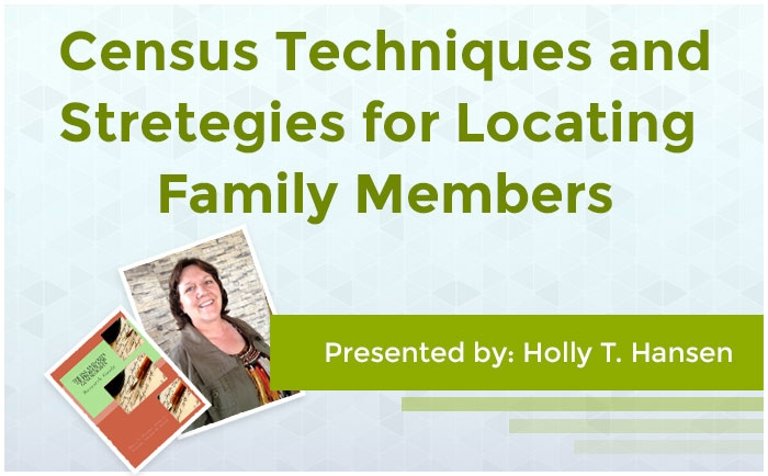 Census Techniques and Strategies for Locating Family Members