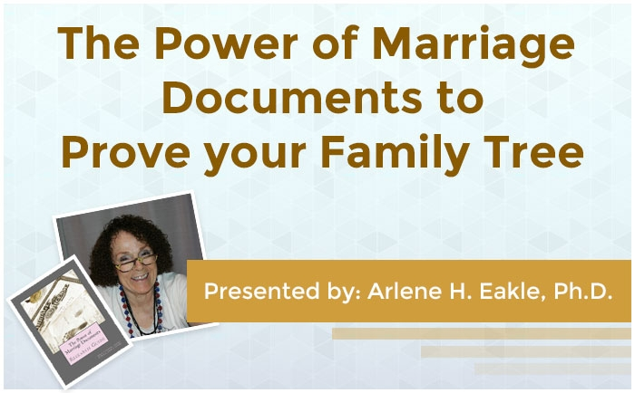 The Power of Marriage Documents to Prove your Family Tree