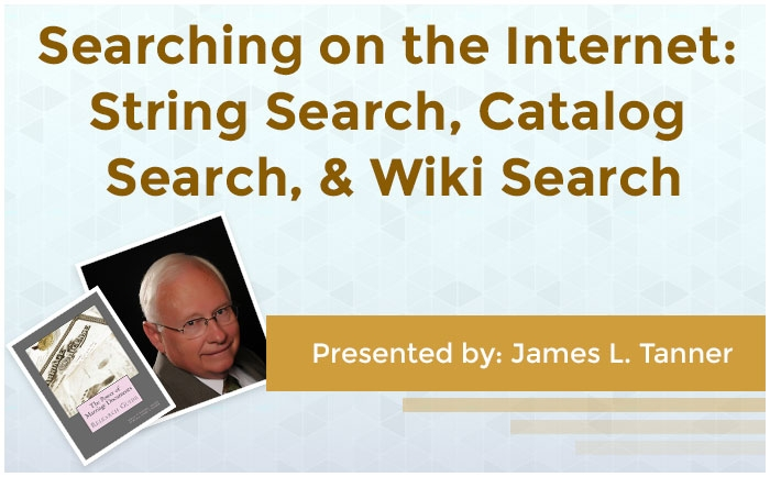 Searching on the Internet: String Search, Catalog Search, & Wiki Search