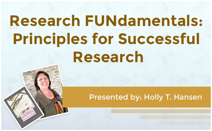Research FUNdamentals: Principles for Successful Research
