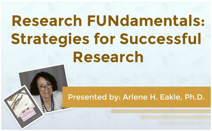 Research FUNdamentals: Strategies for Successful Research