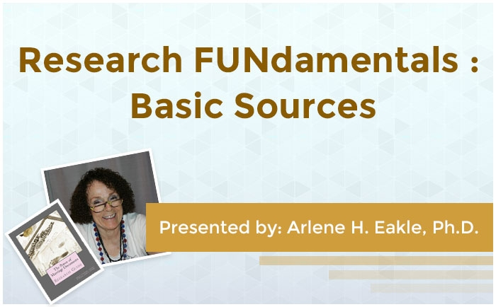 Research FUNdamentals: Basic Sources