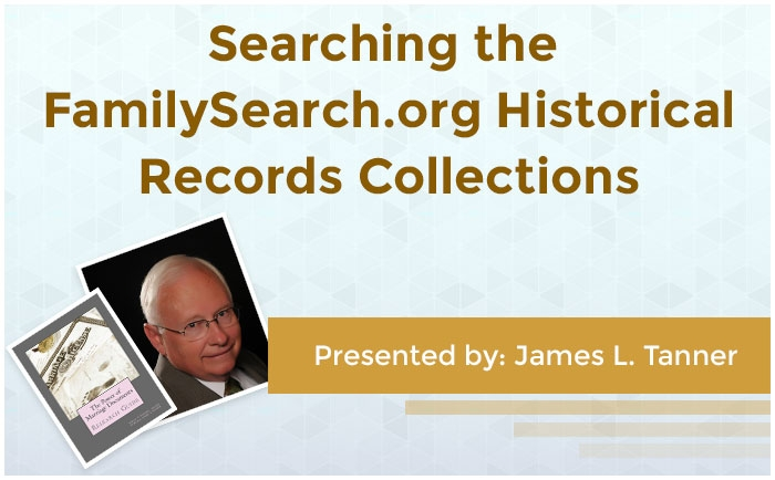 Searching the FamilySearch.org Historical Records Collections