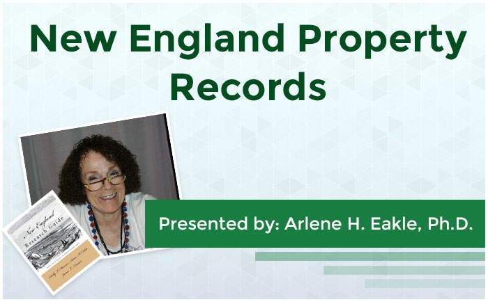 New England Property Records