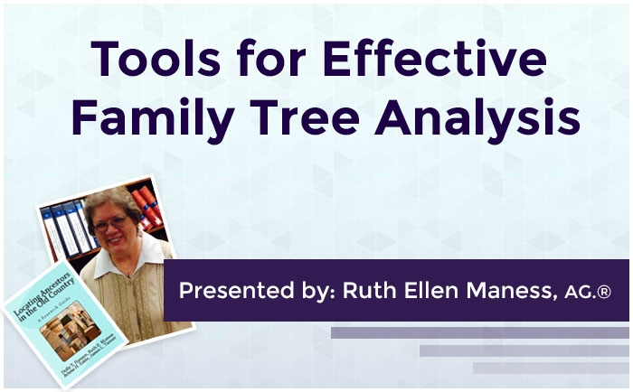 Tools for Effective Family Tree Analysis