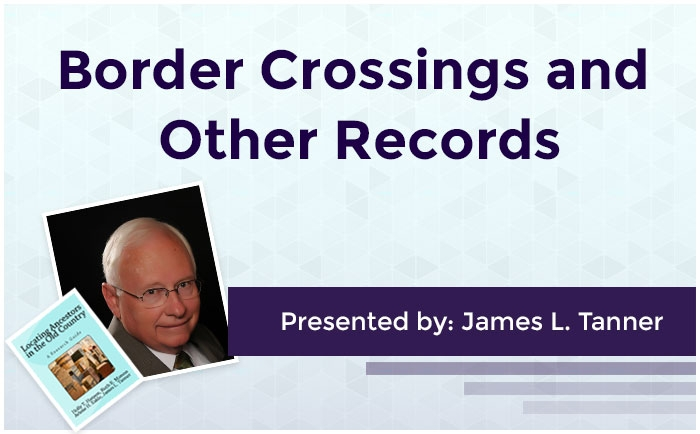 Border Crossings and Other Records