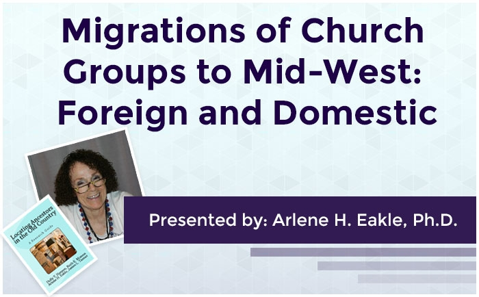 Migrations of Church Groups to Mid-West: Foreign and Domestic