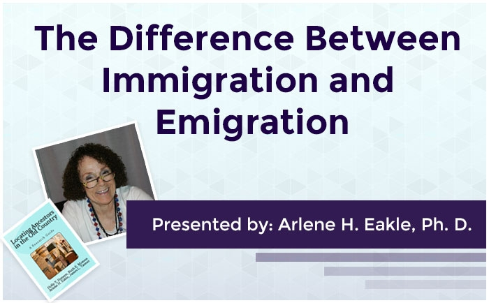 The Difference Between Immigration and Emigration