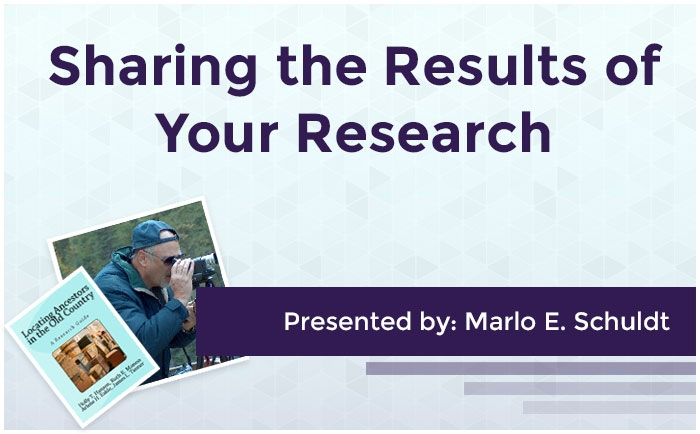 Sharing the Results of Your Research