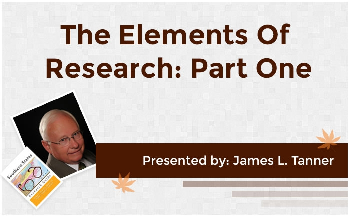 The Elements of Research: Part One
