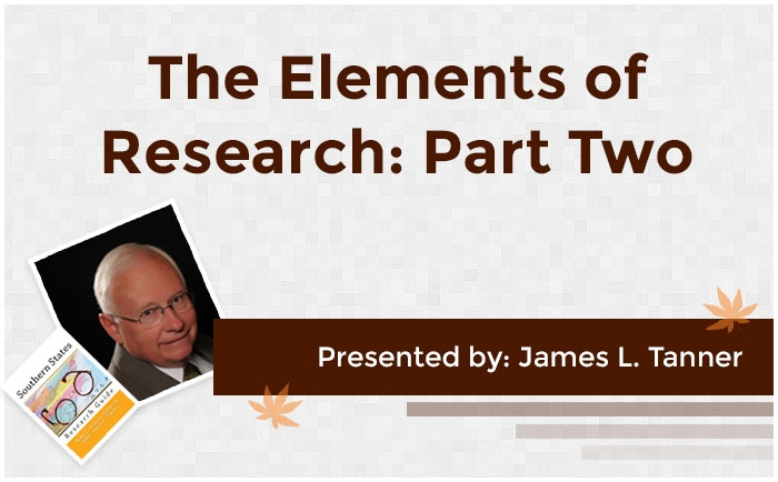The Elements of Research: Part Two