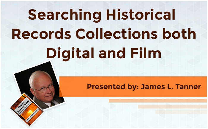 Searching Historical Record Collections both Digital and Film