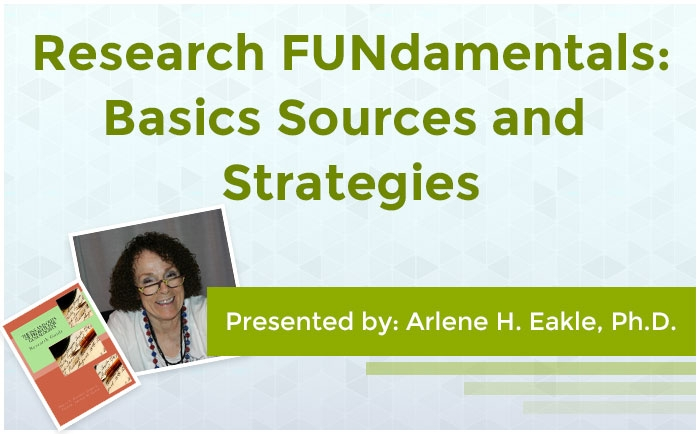 Research FUNdamentals: Basics Sources and Strageties