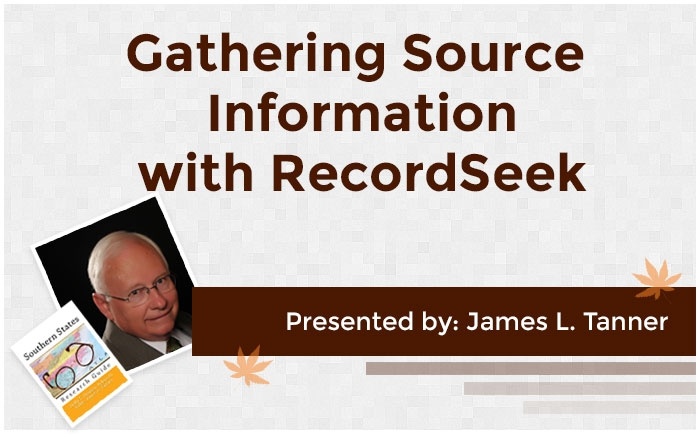 Gathering Source Information with RecordSeek