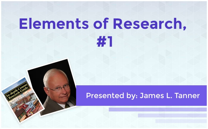 Elements of Research, #1