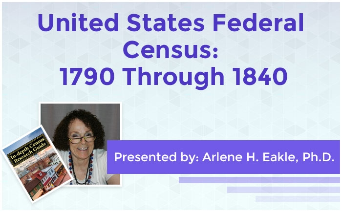 United States Federal Census: 1790 Through 1840