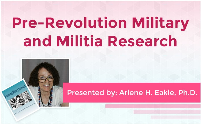 Pre-Revolution Military and Militia Research