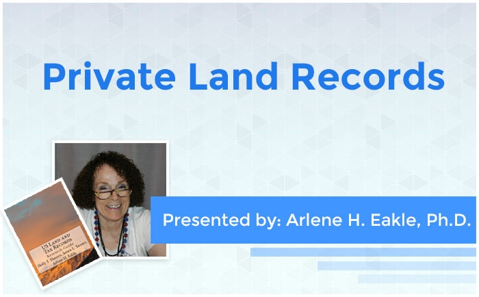 Private Land Records