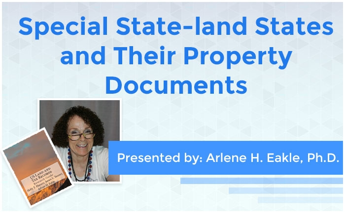 Special State-land States and Their Property Documents