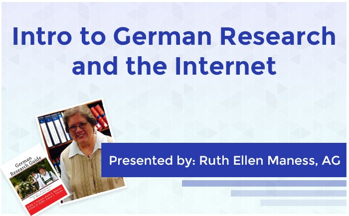 Intro to German Research and the Internet