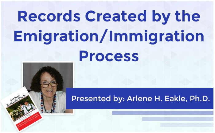 Records Created by the Emigration/Immigration Process