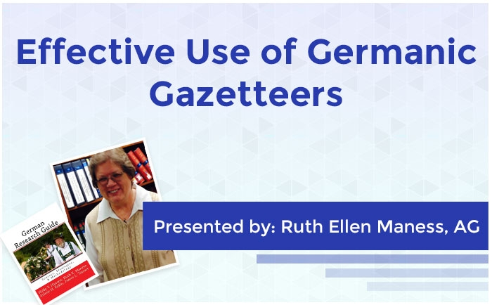 Effective Use of Germanic Gazetteers