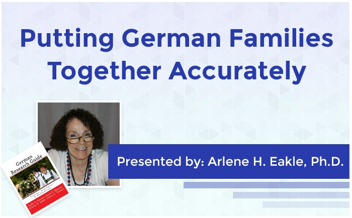 Putting German Families Together Accurately