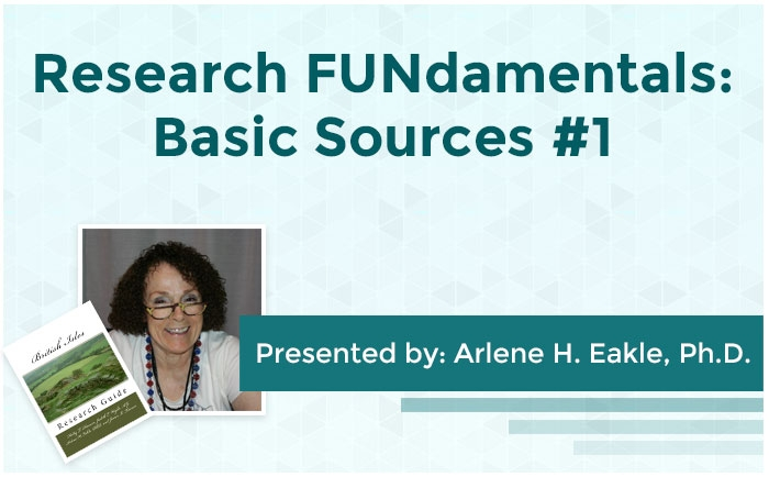 Research FUNdamentals: Basic Sources #1