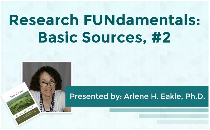 Research FUNdamentals: Basic Sources, #2