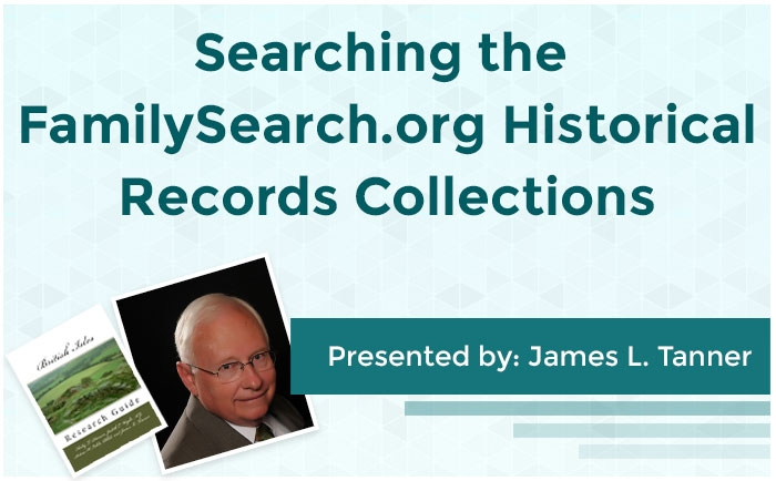 Searching the FamilySearch.org Historical Records Collections: