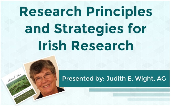 Research Principles and Strategies for Irish Research