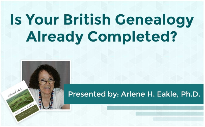 Is Your British Genealogy Already Completed?