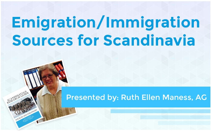 Emigration/Immigration Sources for Scandinavia