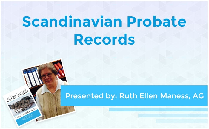 Scandinavian Probate Records