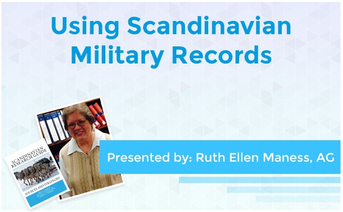 Using Scandinavian Military Records