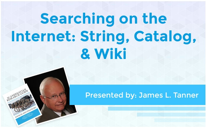 Searching on the Internet: String, Catalog, & Wiki