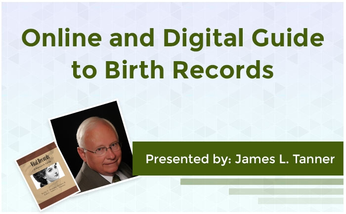 Online and Digital Guide to Birth Records