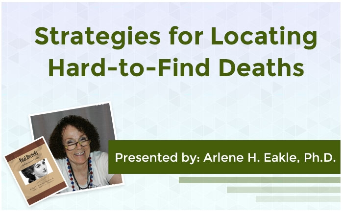 Strategies for Locating Hard-to-Find Deaths