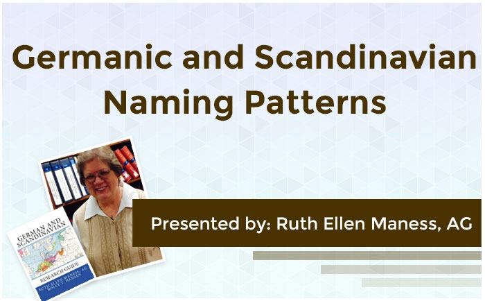 Germanic and Scandinavian Naming Patterns
