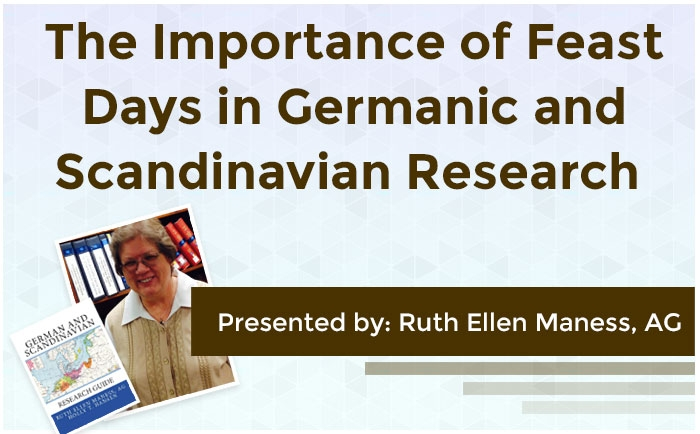 The Importance of Feast Days in Germanic and Scandinavian Research