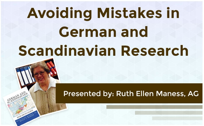 Avoiding Mistakes in German and Scandinavian Research