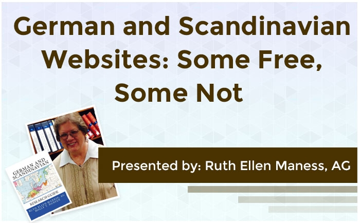 German and Scandinavian Websites: Some Free, Some Not