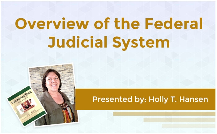 Overview of the Federal Judicial System