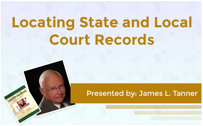 Locating State and Local Court Records