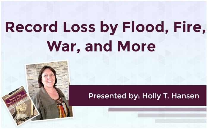Record Loss by Flood, Fire, War, and More