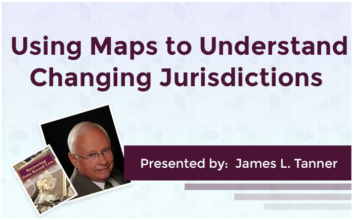 Using Maps to Understand Changing Jurisdictions