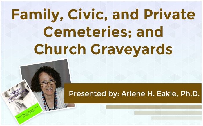 Family and Private Cemeteries, and Church Graveyards