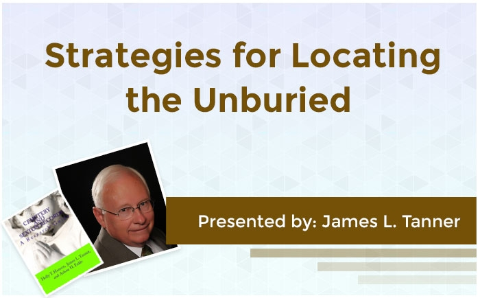 Strategies for Locating the Unburied
